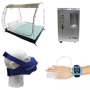 Imagenes de los diferentes productos que forman parte del kit bioaltitude basico