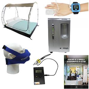 Imagenes de los diferentes productos que forman parte del kit bioaltitude plus
