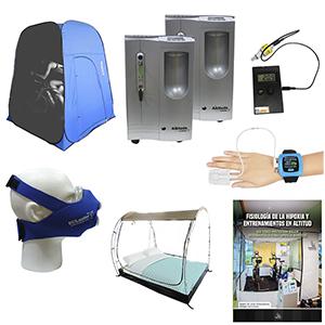 Imagenes de los diferentes productos que forman parte del kit bioaltitude pro